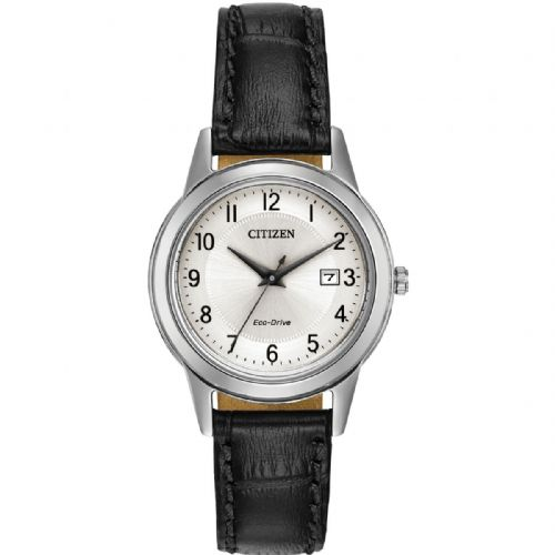 FE1081-08A Citizen Watch Stainless Steel Eco-Drive Ladies Strap